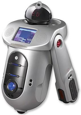ED unveils programmable, home-serving U-ROBO bot with RFID