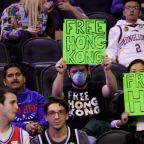 The NBA and Activision Blizzard are one thing — but Trump's silence on China is downright eerie