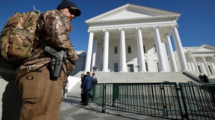 Northam enrages pro-gun activists in Virginia