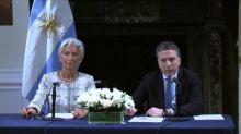 Argentina amplía programa con FMI en USD 7.100 millones