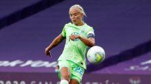 Pernille Harder, mejor jugadora de la pasada Liga de Campeones