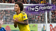 Watch: Borussia Dortmund midfielder scores an incredible volley - The Five Pointer