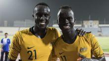 Deng, Mabil share special Socceroos night