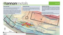 Hannan prepares to diamond drill multiple zinc-lead targets in Ireland