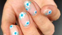 Trend alert: las flores en las uñas retoman fuerza