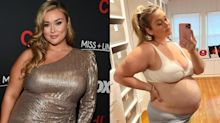 'It's almost as if we don't exist': Hunter McGrady praised for powerful message of being plus size and pregnant