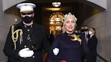 Marine Who Escorted Lady Gaga at the Inauguration Shares Humorous & Heartfelt Backstory