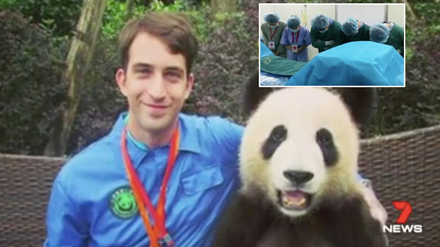 The selfless act that made this Sydney man a hero in China