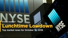 The Lunchtime Lowdown - Your midday update for Oct. 18