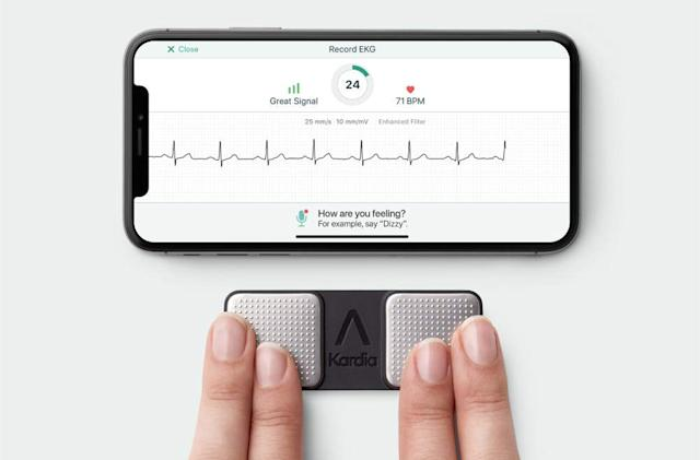 FDA clears first personal ECG device to detect three heart arrhythmias