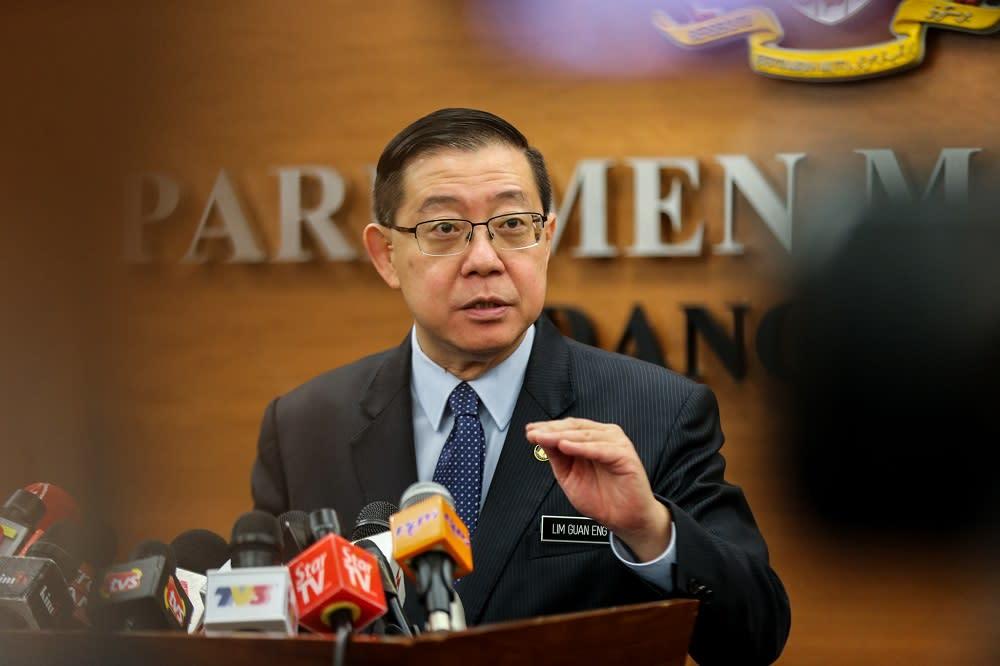 GST gone and Malaysia still not bankrupt, Guan Eng tells Najib