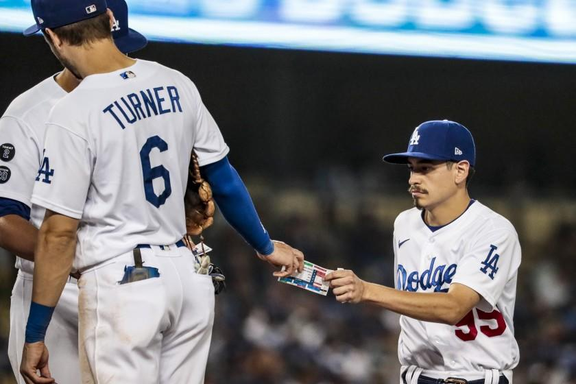 Dodgers' bat boys are different than they appear to be. Here's the inside info - Yahoo News