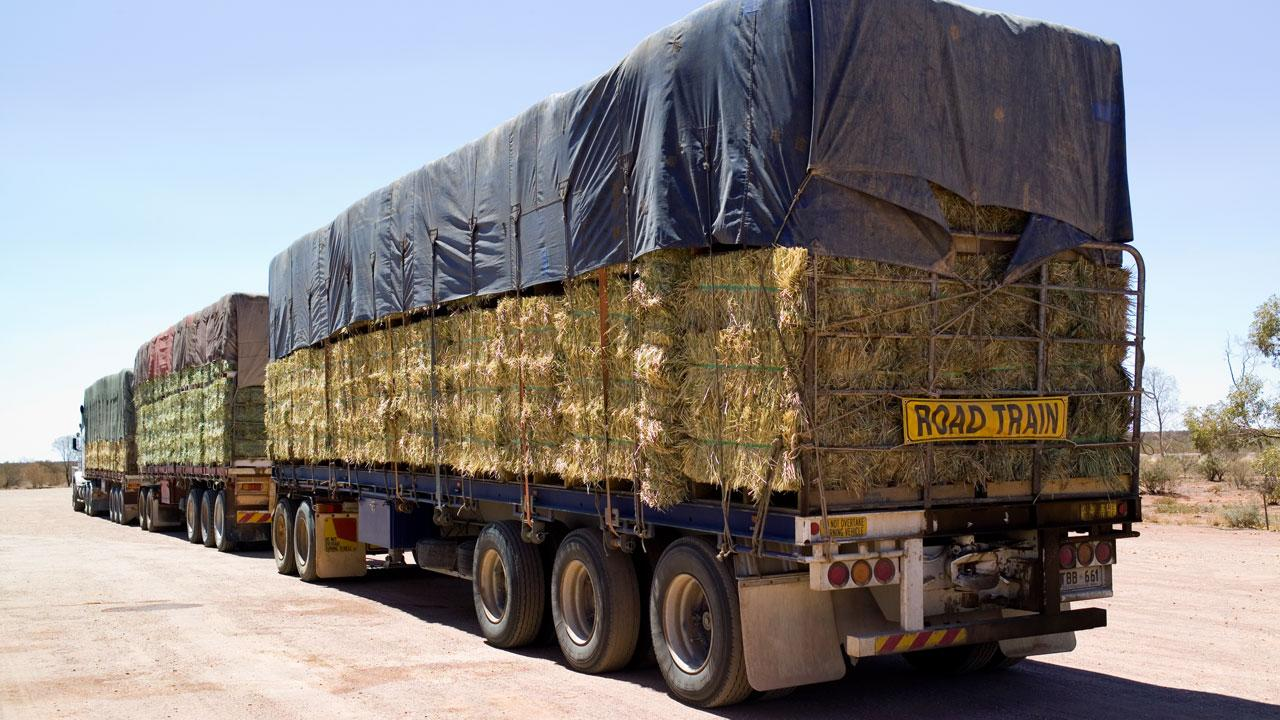 Outrage over reason why truckie with load of hay copped $272 fine
