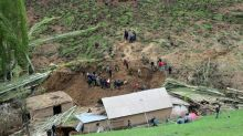 24 dead as Kyrgyz landslide engulfs village homes