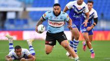 Johnson injured as Sharks topple Bulldogs