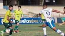 Série C: São Bento e Ypiranga-RS ficam no empate por 1 a 1