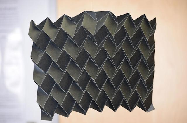 NASA's new satellite radiator is a work of art