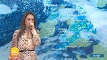 Laura Tobin's Giggly Forecast On Good Morning Britain Certainly Makes Up For The Terrible Weather