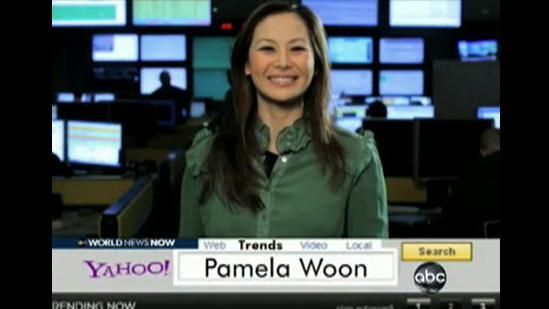 ABC World News Now: Yahoo! Trends With Pamela Woon