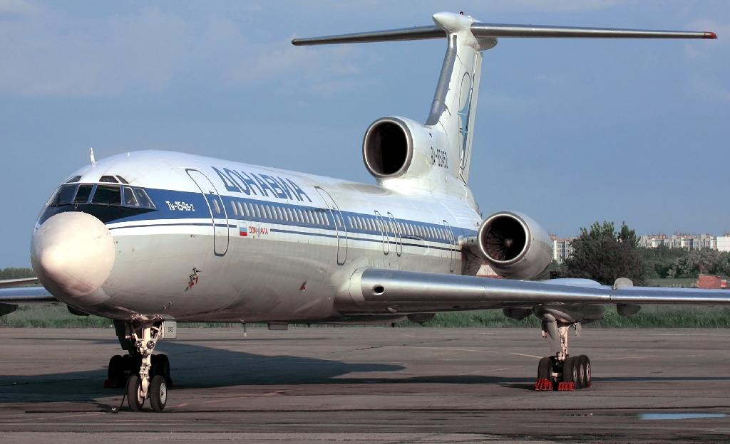 File photo shows a Tupolev-154 (TU-154) similar to a military plane which crashed in the Black Sea as it made its way to Syria with 92 people onboard (AFP Photo/Alexander NEMENOV)