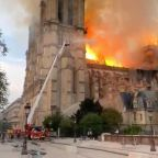 Notre Dame was minutes away from collapsing, officials say