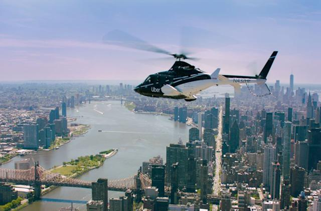Uber Copter's $200 trips to JFK are now available to everyone (updated)