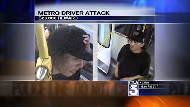Reward Offered in Attack on Metro Bus Driver