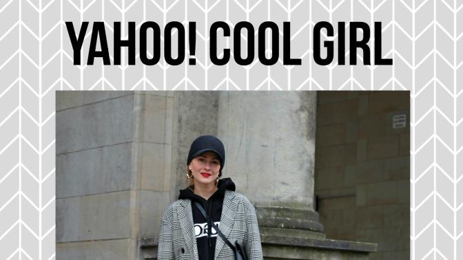 Yahoo! Cool Girl Anna Zlobenko