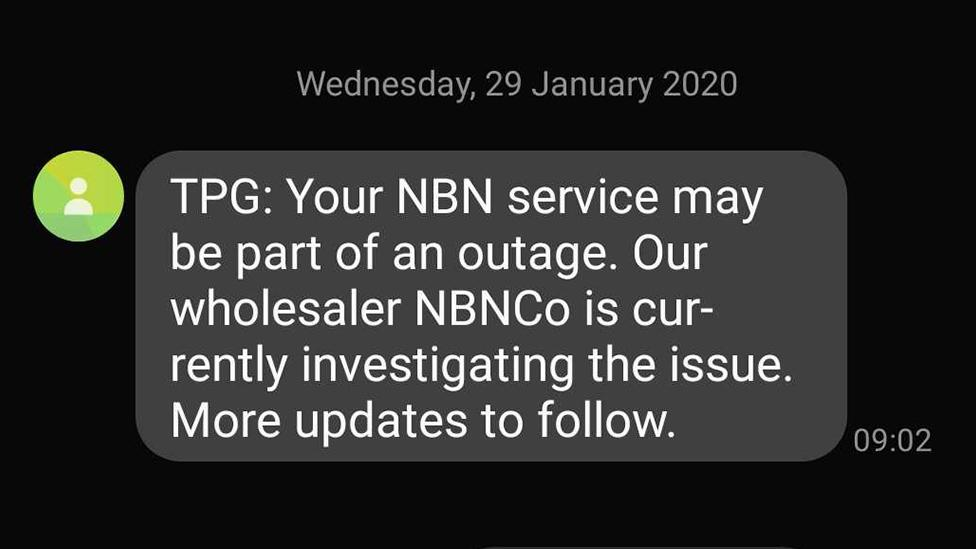 Internet customers frustrated as TPG suffers Australia-wide outage