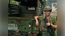 Winwynn Marquez is proud to have completed Marine Reservist training