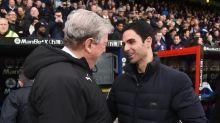 Mikel Arteta hails 'legend' Roy Hodgson ahead of Crystal Palace departure