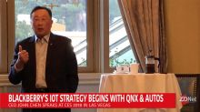 BlackBerry's IoT strategy begins with QNX and autos CEO says