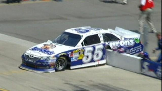 Nascar Driver Escapes Near-Death Crash