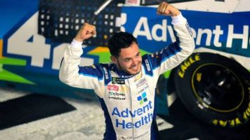 Kyle Larson caps crazy day with All-Star triumph