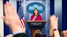 Sarah Sanders favors journalist wearing the same dress as her