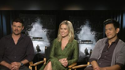 Karl Urban, Alice Eve And John Cho Talk Upping Their Game For 'Star Trek Into Darkness'