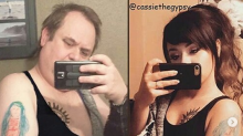Este papá continúa 'trolleando' las selfies de su hija