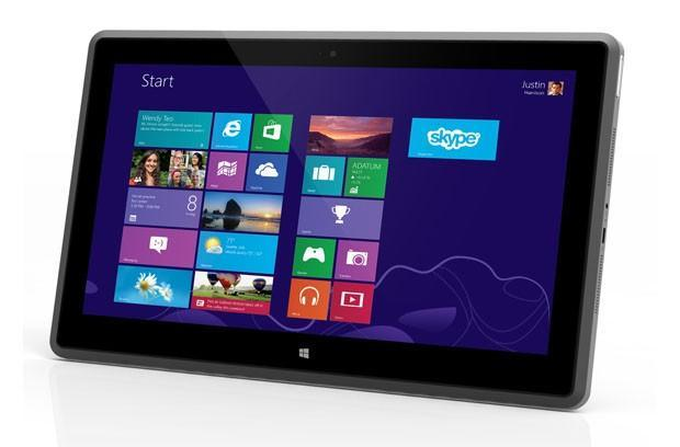 Vizio debuts its first Windows 8 tablet, an 11.6-inch slate with a 1080p display, AMD processor