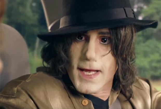 Can you tell which actor is playing Michael Jackson in this new TV production?