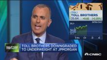 Toll Brothers cut to underweight at JPMorgan