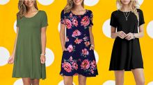 Get it or regret it: Amazon's best-selling T-shirt dress is on sale and starting at just $19