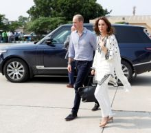 Prince William and wife Kate land in Pakistan capital after aborted flight