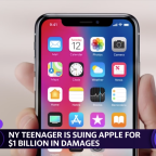 New York teenager sues Apple for $1 billion