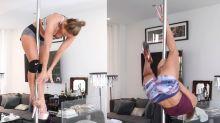 Jennifer Lopez mostra preparação para personagem stripper
