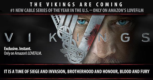 The Vikings head to the UK exclusively via Lovefilm