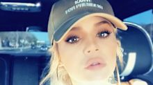 Khloé Kardashian's 'Kanye for president' hat angers the internet: 'No more idiots for president please'