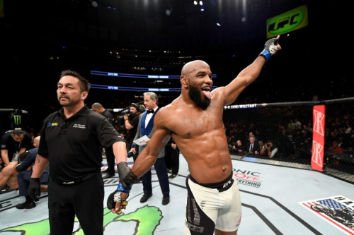 Yoel Romero has won eight straight fights since joining the UFC. (Getty)