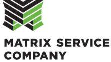 Matrix Service Company Reports First Quarter 2021 Results