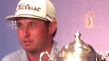 (PHOTOS) Hickory native claims surprise Wyndham victory