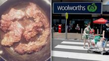 Shopper accuses Woolworths of 'unacceptable' meat act